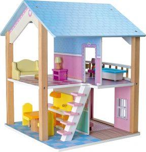 Dreveny domcek pre babiky Small Foot Legler LE3110