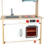 Moderna drevena kuchynka pre deti Small Foot Legler LE10749