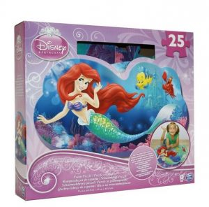 Penové puzzle 25 ks Disney Princess