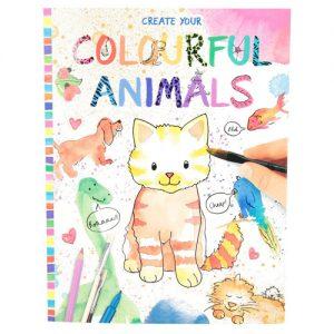 Maľovanky Farebné zvieratká Create Your 1737788.jpg
