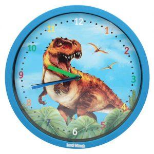 Nástenné hodiny Dino World 2323851.jpg