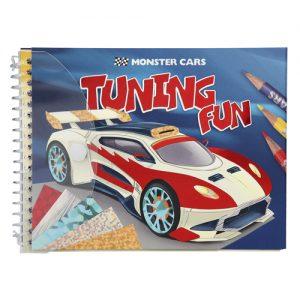 Maľovanky Tuning Fun kreatívna sada Monster Cars 2323893