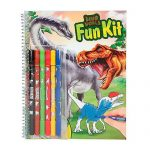 Maľovanky Fun Kit so 6 fixkami Dino World 2702807.jpg