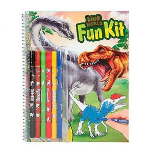 Maľovanky Fun Kit so 6 fixkami Dino World 2702807.jpg