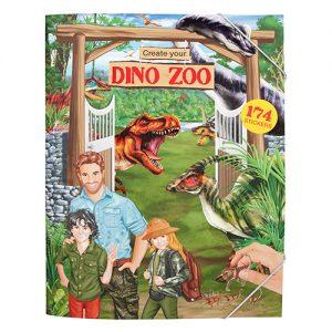 Kreatívny zošit Dinosauria ZOO Create Your 2962818