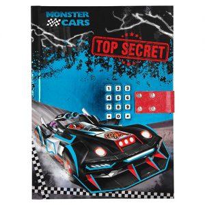 Uzamykateľný diár Monster Cars 3057500.jpg