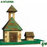 Drevená stavebnica Zvonica s studňa Walachia 33W9.jpg