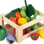 Drevená debnička s ovocím a zeleninou Small Foot 7123_legler