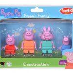 Peppa Pig Figúrky Rodina PlayBig BLOXX B 57113