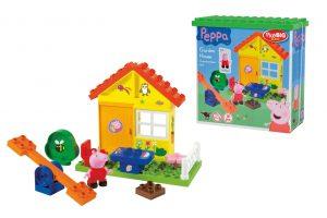 Stavebnica Záhradný domček Peppa Pig PlayBig Bloxx
