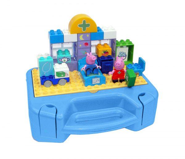 Peppa Pig Sada s kufríkom PlayBig Bloxx