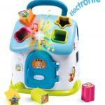 Domček Cotoons vkladačka modrý elektronický SMOBY