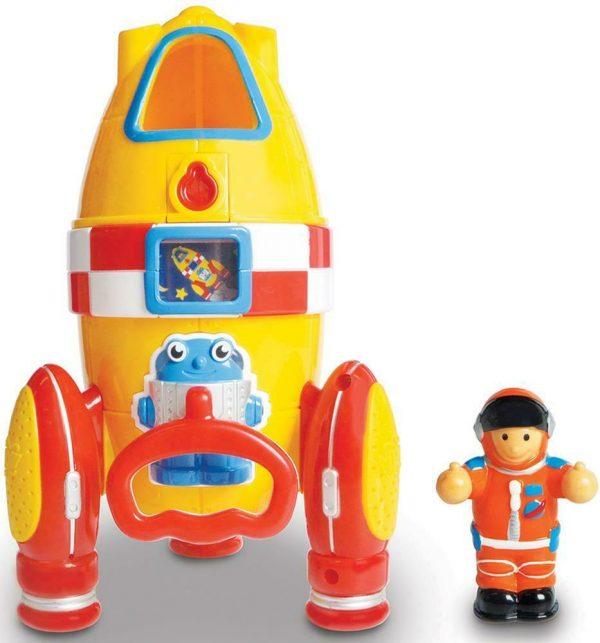 Vesmírna raketa Ronnie s kozmonautom WOW
