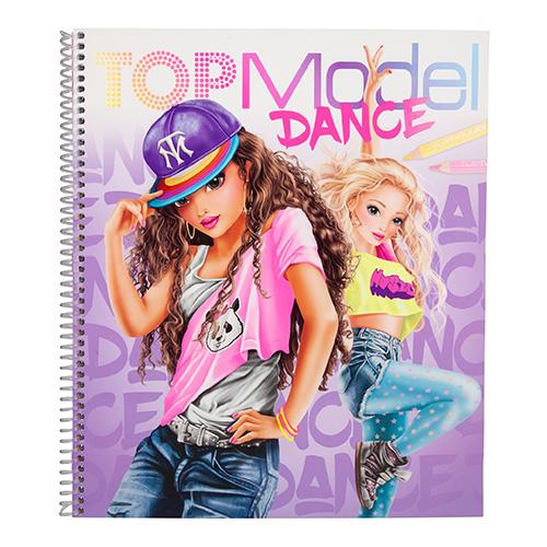 Maľovanky kreatívna sada Dance Top Model 3323310.jpg