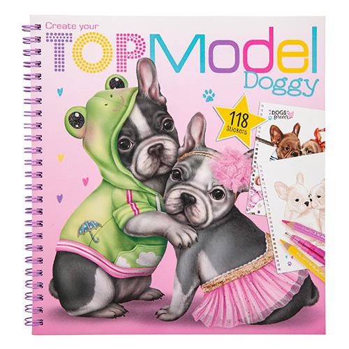 Maľovanky kreatívna sada Dvaja psíkovia Top Model 3323322.jpg