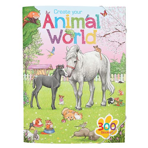 Kreatívny zošit Svet zvierat Create Your 3323353.jpg