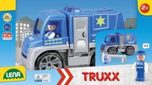 Polícia TRUXX s figúrkou v krabici LENA 8404455.jpg