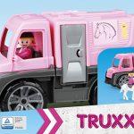 Konský transport TRUXX s figúrkou v krabici LENA 8404458.jpg