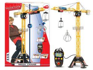 Žeriav Mega Crane 120cm RC na kábel Dickie D 3462412