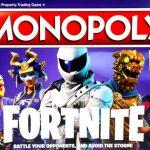 Spoločenská hra Monopoly Fortnite Hasbro