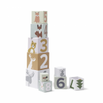Kocky kartónové Edvin 10 ks Kids Concept 1000452KC