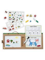 Kreatívny set v kufríku Farma Melissa & Doug mdg31325