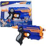 NERF Elite Firestrike pištoľ s laserovým zameriavavním