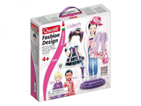 Kreatívna súprava Fashion Design Lisbeth Quercetti