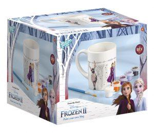 Kreatívna sada Frozen II Maľovanie hrnčeka Totum t680760