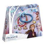 Kreatívna sada Frozen II Kreatívna sada ľadové kráľovstvo Frozen II Korálkové náramky Totum t680746