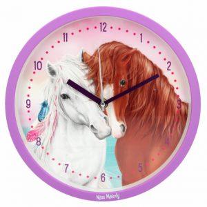 Nástenné hodiny Miss Melody Top Model 456758