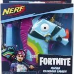 Blaster Nerf Microshots Fortinte Rainbow Smash