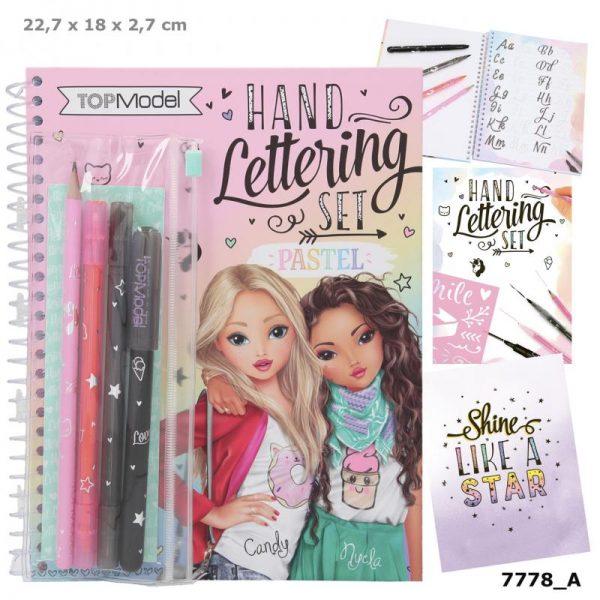 Kreatívny zošit Hand Lettering Set Pastel Top Model