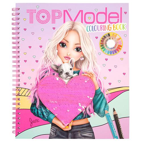Omalovanka Top Model Colouring book 3327089