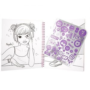 Maľovanka Colouring Book Top Model 3327089