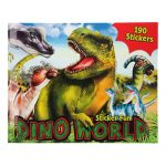 Kreatívny zošit Sticker Fun Dino World 3327093