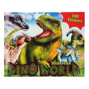 Kreatívny zošit Sticker Fun Dino World 3327093