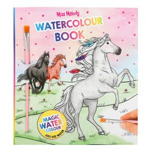Maľovanka Watercolour Book Miss Melody 3327094
