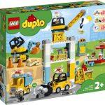 LEGO Duplo Stavba s vežovým žeriavom 10933