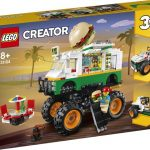 LEGO Creator Hamburgerový Monster truck 31104