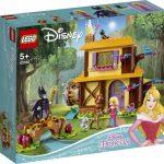 LEGO Disney Princess Šípková Ruženka a lesná chalúpka 43188