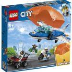 LEGO City Zatknutie zlodeja s padákom 60208