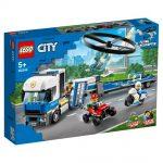 Preprava policajného vrtuľníka 60244 LEGO