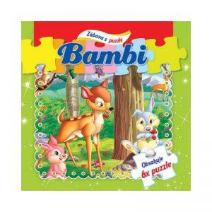 puzzle kniha Bambi 12490