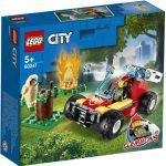 LEGO City Lesný požiar 60247