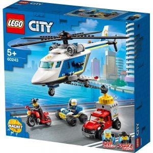 LEGO City Prenasledovanie s policajnou helikoptérou 60243