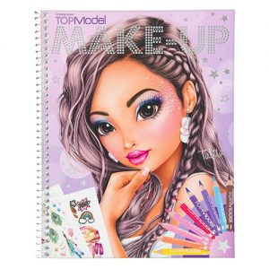 Maľovanky kreatívna sada Make Up Top Model 3341896