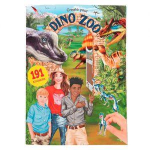 Kreatívny zošit Dino World Create Your Dino Zoo 3341908