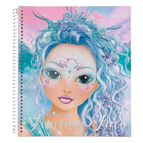 Maľovanka Top Model Create your Fantasy Face 3341920