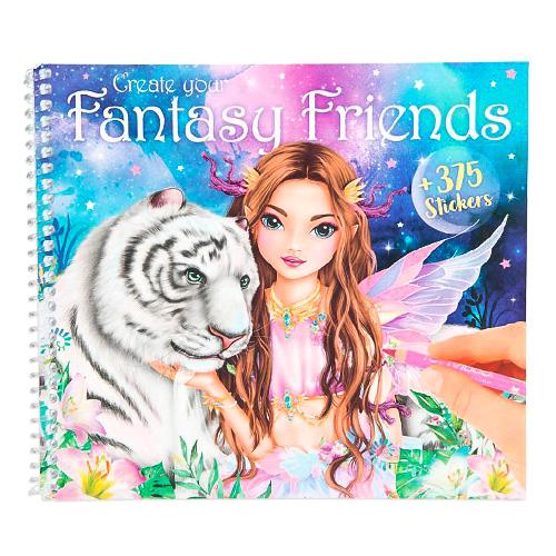 Maľovanka Create your Fantasy Friends Top Model 3341921